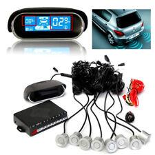 Car Dual-core LCD Display 8 Parking Sensor Security SUV Reverse Radar Alarm Kit