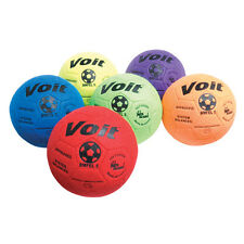 Voit Indoor Felt Soccer Ball - Size 5 - Prism Pack of 6