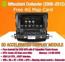 Android Multimedia Player for Mitsubishi Outlander 2006-2012 DVD GPS Navi Radio