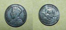 NEW ZEALAND SILVER SHILLING 1933