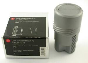 LEICA Super-Colorplan-P2 MC 2,5/90 90mm F2,5 37614 premium Pradovit P300 P600