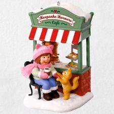 Hallmark 2018 Christmas Window Exclusive Collector's Club Ornament