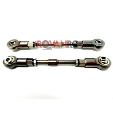 Rovan CNC Alloy/Steel LT-SLT Steering Turnbuckle Kit (2) Fits LOSI 5IVE T KM X2