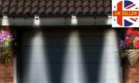 Decorative 2 Pack Solar Powered LED Gutter Lights Fence Outdoor Roof Garden