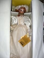 Seymour Mann 22 In Porcelain Nanette Bride Doll  NRFB