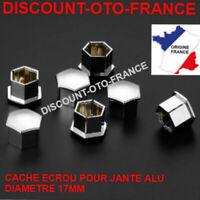 capuchon Cache ecrou JANTE ALU 17 MM PEUGEOT RENAULT FIAT AUDI CITROEN SEAT NEUF