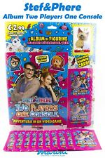 STEF&PHERE TWO PLAYERS ONE CONSOLE ALBUM 12 BUSTINE FIGURINE + RAINBOW CARD 2020