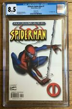 Ultimate Spider-Man #1 1:100 Quesada White Variant 1st 'Ultimate' Title CGC 8.5