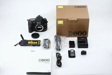 C013-890***Near  Mint++***Nikon D600  in Box Shutter Count 4244 Shot! from Japan