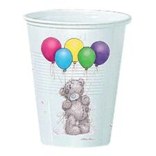 Pack of 8 Me to You Plastic Cups - Party Tatty Teddy with Balloons Design