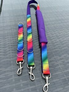 Dog grooming belly strap & extender strap set.