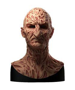 Silicone Mask | Freddy Krueger (PT 4) Halloween Mask | Nightmare on Elm Street