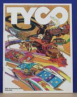 Original 1976 Tyco Slot car & Train Dealer Trade Catalog Exc Cond!