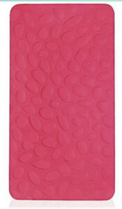 Nook Sleep Pebble Pure Organic Crib Mattress, Hot Pink Blossom