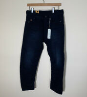 G-Star Raw Type C 3D Loose Tapered CROPPED Womens Jeans Aged Blue Size W25 L32