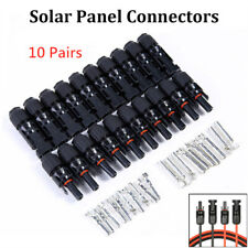 Enchufes Conectores De Cable Panel Solar De MC4 1000V DC Hombre Y Hembra Set TUV
