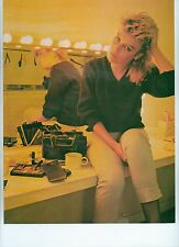 KIM WILDE 'in her dressing room' magazine PHOTO/Poster/clipping 11x8 inches