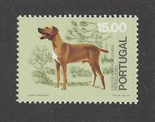 Dog Postage Stamp PORTUGUESE POINTER PERDIGUERO DE BURGOS Portugal 1981 MNH