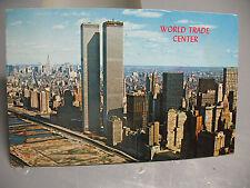 POSTCARD WORLD  TRADE  CENTER  APRIL  1973 COPYRIGHT SCHELLER CO. N.J.