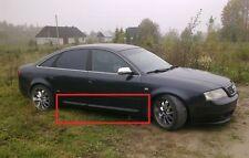AUDI A6 C5 S6 S-LINE LOOK SIDE BLADES / DOOR BLADES / DOOR BAR NEW