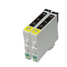 2X Cartucce di Inchiostro Nero Compatibile per EPSON B1100