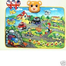 Musical Carpet,Play Mat,Educational Rug,Voice of Cars,Airplane ,Train,....Musics