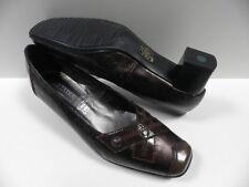 Chaussures J METAYER certif marron FEMME taille 38.5 escarpins shoes brown NEUF