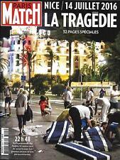 PARIS MATCH N°3505 20/07/2016 NICE,LA TRAGEDIE/TERRORISME/BREST GREEMENTS/CHIRAC
