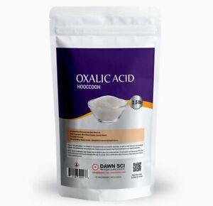 Oxalic Acid -Pure (99.8%)  Fine Powder  2.5 LB  SHIPS FAST from USA