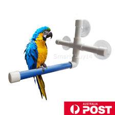 Bird Shower Bath Perch Folding Stand Rack Platform Toys for Parrot GIFT