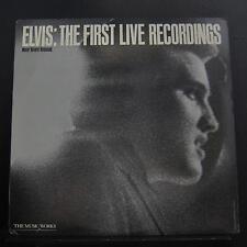 Elvis - The First Live Recordings LP Mint- PB 3601 Passport 1982 Vinyl Record