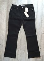 New Women's LEVI'S 515 Boot Cut Black Denim Jeans - 4S to 16M