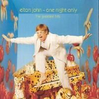 Elton John : One Night Only: The Greatest Hits CD (2000)