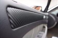 BMW X3 E83 3D CARBON SCHWARZ ZIERLEISTEN FOLIEN SET