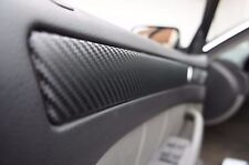 Seat Ibiza III 6L 3D CARBON SCHWARZ ZIERLEISTEN FOLIEN SET