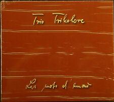 CD trio drapeau tricolore-les mots d amour, Neuf-Emballage d'origine