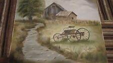 Mabel Vandiver painting-Lost Colony Artist-1930s-Ok/KA/Tex Regionalist Painter