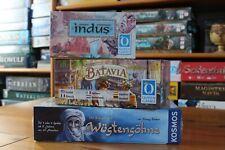 3 tolle Brettspiele im Paket (z.B. Batavia)