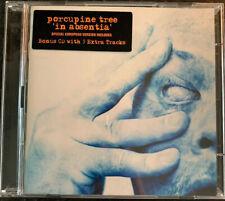 Porcupine Tree In Absentia CD 2003 Enhanced Bonus CD Steven Wilson Aviv Geffen