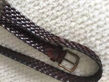 Cinturón. Piel Trenzado Talla 95