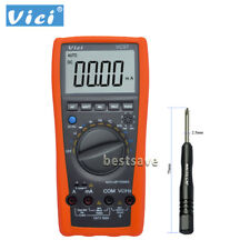 VICI VC99 LCD Digital Multimeter Temp AC DC V/A Res Cap Frequency Ammeter