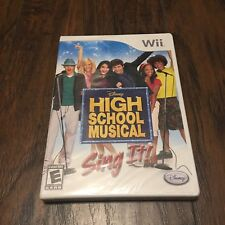 High School Musical: Sing It Nintendo Wii (Sealed)
