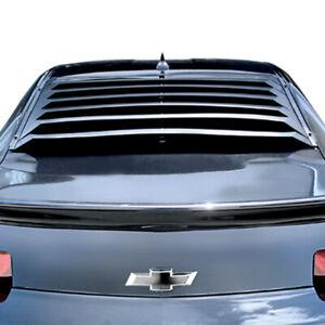 Fits: Chevrolet Camaro 2010-2015 Willpak Aluminum Rear Window Louver