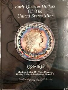 Early Quarter Dollars Of The United States Mint New Book on Draped Bust Quarters