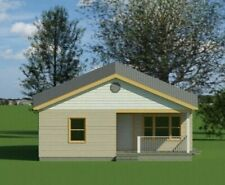 Single Family House featuring 831 SF, 2 Bed, 1 Bath -28' x 36'