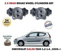 Para Chevrolet Kalos 1.2 1.4 T200 2005   > 2X Cilindro de Rueda Freno Trasero