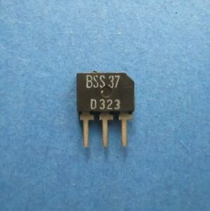 BSS37  Siliziumtransistor  NIXIE  110V  0,1A  0,2W  95MHz  PHILIPS