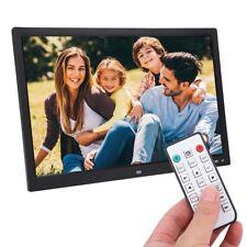 17 Zoll Digital Bilderrahmen Uhr MP4 Movie Player HD Kalendermuster Wandmontage❤