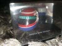 ONYX 1/12 ERIK COMAS LARROUSSE 1994 CRASH ARAI F1 FORMULA 1 HELMET HF023