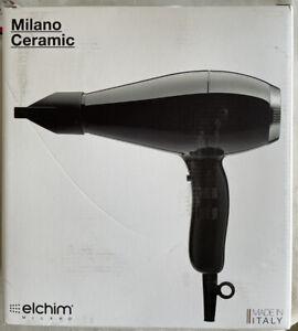 Elchim Milano Ceramic Blow Dryer Black & Silver